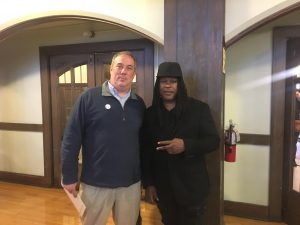 Josh Hoe and Shaka Senghor