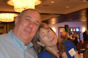 Josh and Mary King at the MCCD 2018 fundraiser in Ann Arbor Michigan