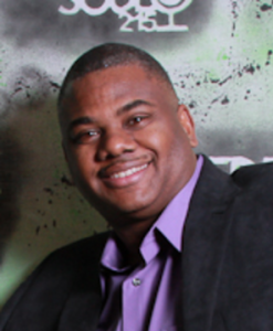 A picture of Reuben Jones, Executive Director of Frontline Dads