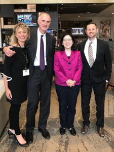 Mark Holden and his criminal justice reform team at Koch Industries