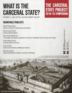 The University of Michigan Carceral State Project Flier