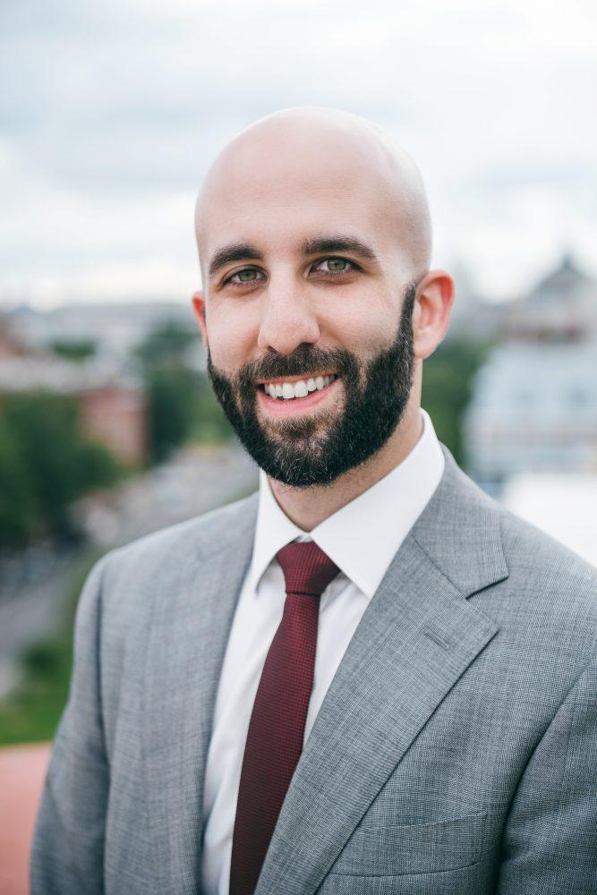 A picture of Joe Luppino-Esposito of the Due Process Institute