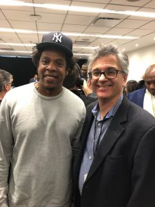 Vincent Schiraldi with Jay Z
