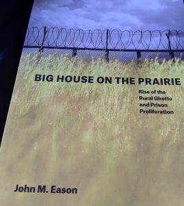 a picture of the cover of the book Big House On the Prairie by John M. Eason