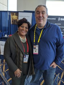 Joshua B. Hoe and Alice Marie Johnson at CPAC 2020