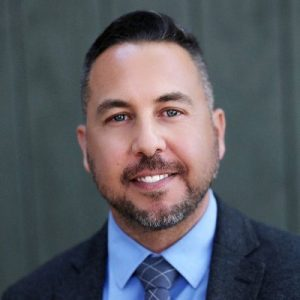 A picture of Michael Mendoza, Executive Director #cut50, Joshua Hoe's guest on episode 76 of the Decarceration Nation Podcast