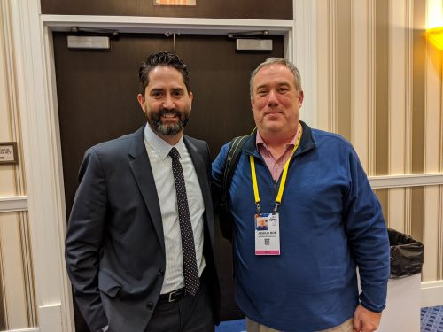 Joshua B. Hoe with Bret Tolman at CPAC 2020