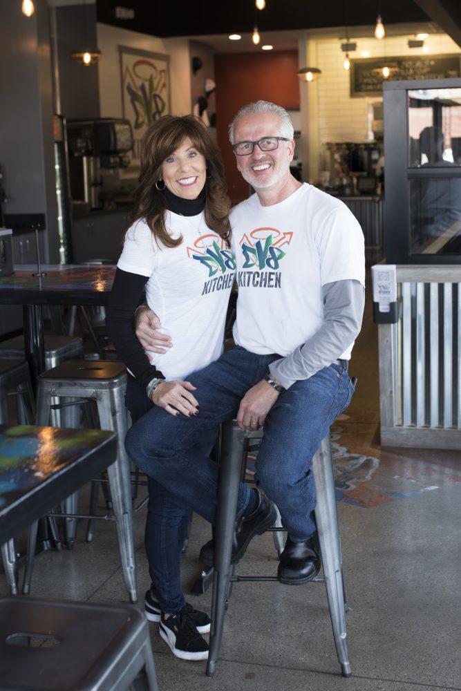 Rob and Diane Perez, owners of DV8 Kitchen in Lexington Kentucky