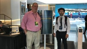 a picture of Joshua Hoe and Robert Alvarez at the Smart on Crime Conference 2019