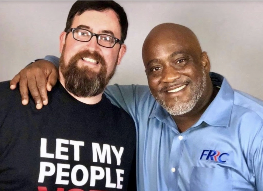 Neal Volz and Desmond Meade, two of Josh's guests for Episode 82 of the Decarceration Nation Podcast