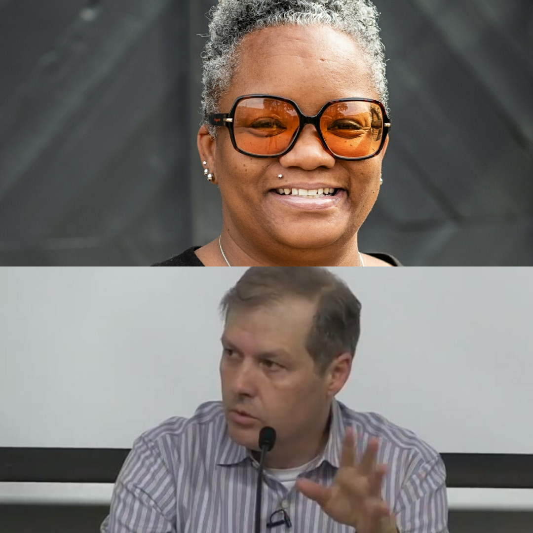 Tawana Petty and Alex Vitale Joshua Hoe's guest on the Decarceration Nation Podcast