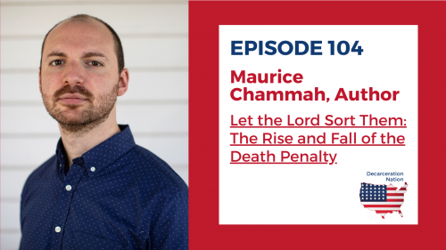 """A picture of Maurice Chammah author of the book """"Let the Lord Sort Them: The Rise and Fall of the Death Penalty"""