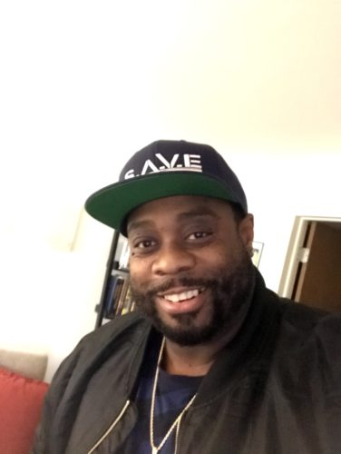 A picture of Kamal Lukata Anderson, one of Joshua B. Hoe's guests during Episode 116 of the Decarceration Nation Podcast